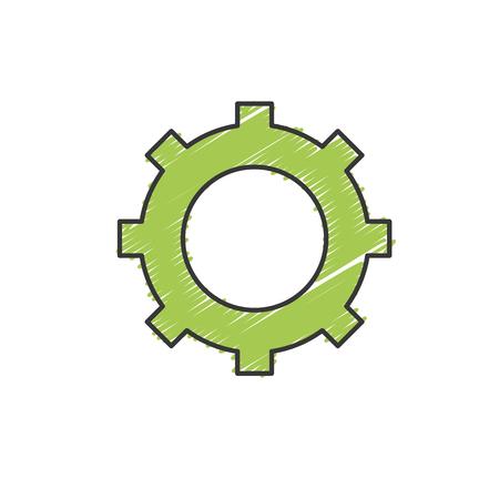 Technology web tools symbol icon Illustration