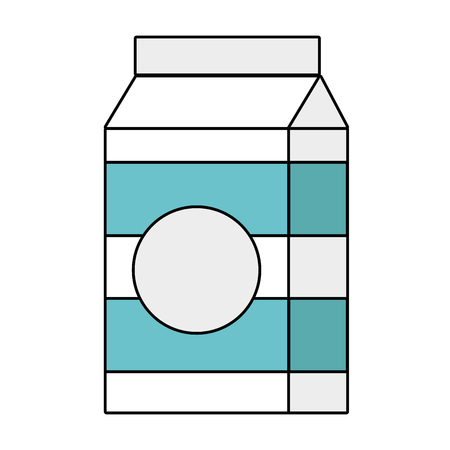 Heerlijk ontbijtgranen voor ontbijtmaaltijd vectorillustratie