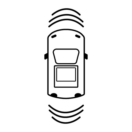 sunroof: line car transportation from above with sunroof