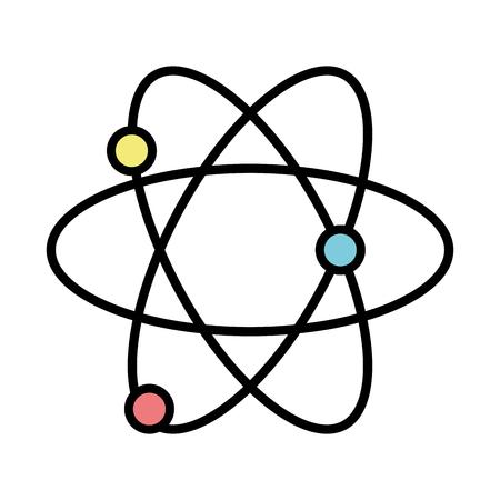 physics atom chemistry science education Illustration