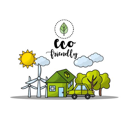 environment care to earth planet protection