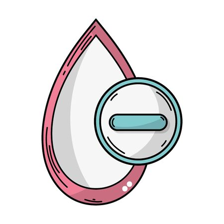 A Blood Drop Patter For Medical Donation Symbol Seamless Background