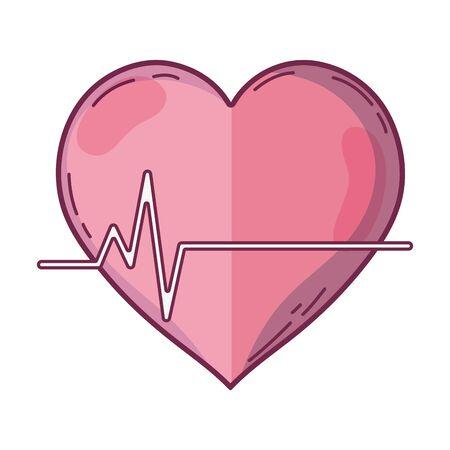 systole: frequency vital cardiac rhythm heartbeat Illustration