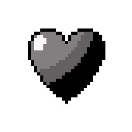contour heart love and life symbol design vector illustration Illustration