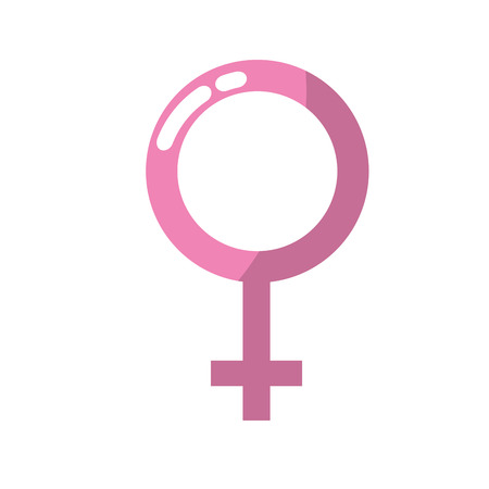 Female gender symbol to special event