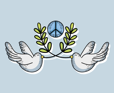 hopeful: hippie symbol to peace and love