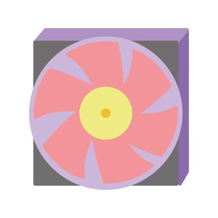 technology hard drive fan processor