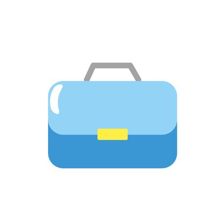 koffer voor zakenman belangrijke documenten pepers vector illustratie