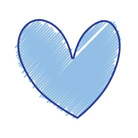 nice heart element icon design vector illustration Illustration
