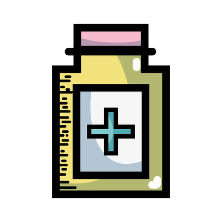 ointment medical cream to treatment product Illustration