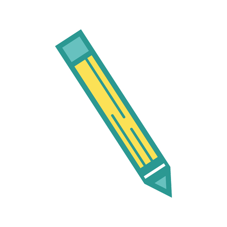 pencil school tool object to education