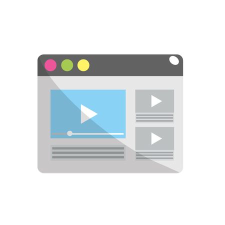 html: website with important videos information
