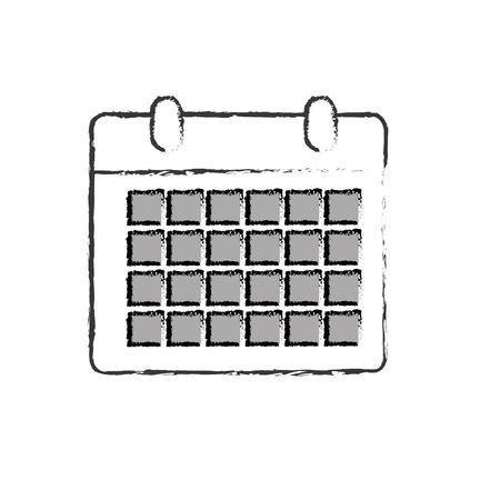 line calendar to organizar important events Imagens - 85761073