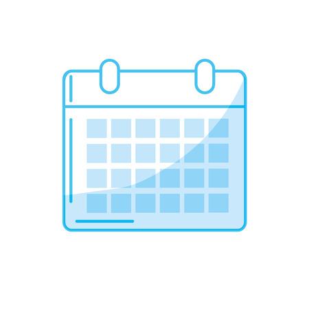 silhouette calendar to organizar important events