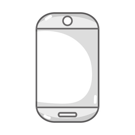 mobile device: grayscale technology smartphone electronic to call and speak
