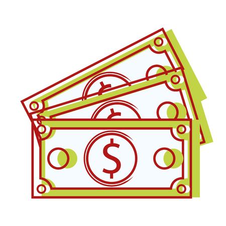 bills dollar cash money to commercial economy