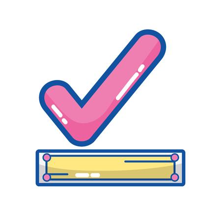 check good symbol icon design