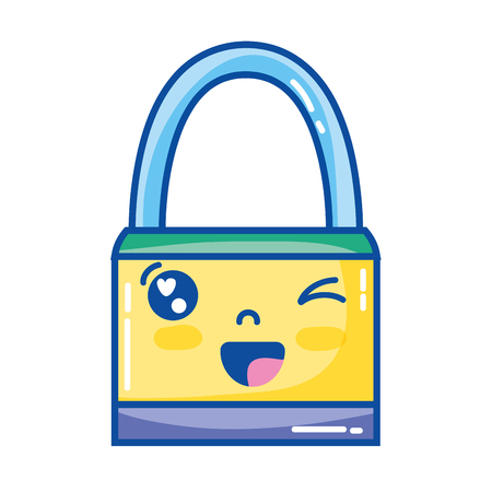 kawaii cute funny padlock security