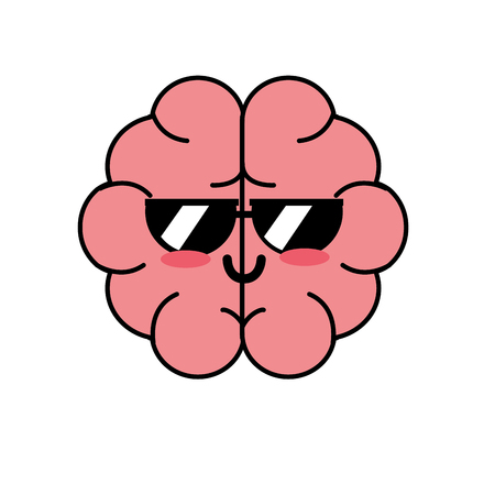 cute funny brain anatomy organ