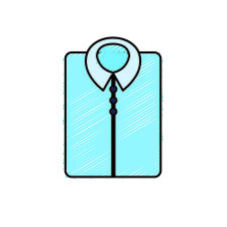 man shirt casual design style vector illustration