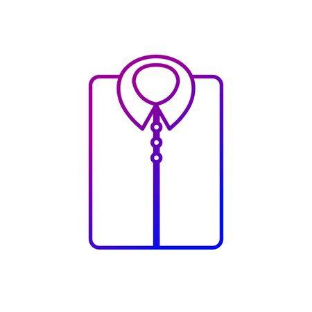 line man shirt casual design style vector illustration