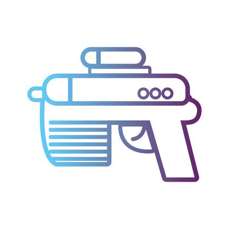 line videogame gun electronic technology