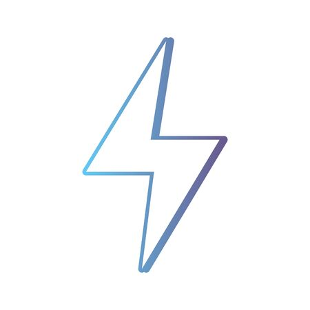 lijngevaar elektrisch energie symbool Stock Illustratie