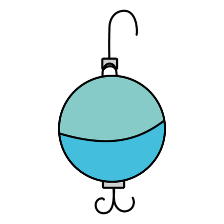 Fishing bait vector illustration