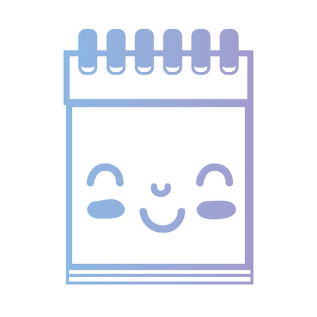 paper note: line kawaii cute happy notebook tool
