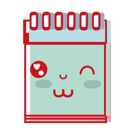 paper note: kawaii cute funny notebook tool