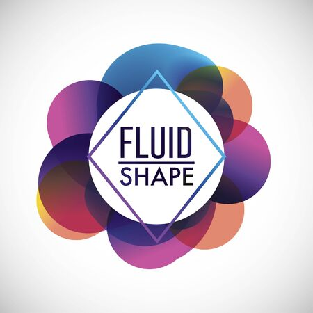 backgrund: abstract fluid decoration backgroun design