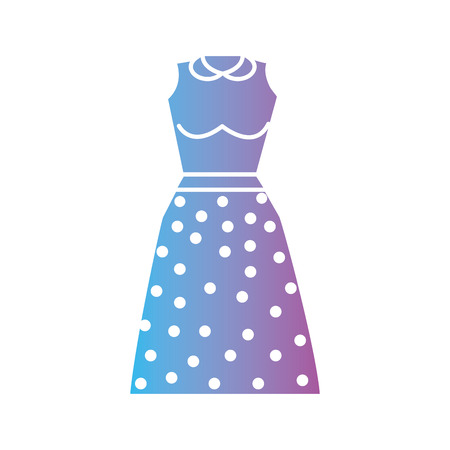 silhouette woman clothes style design vector illustration