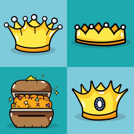Christmas holiday 3 kings design. Illustration
