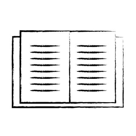objet de livre de l'éducation de chiffre pour apprendre et étudier
