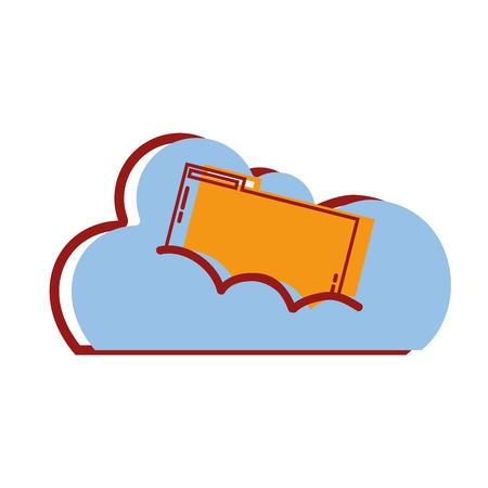 cloud data with digital folder file