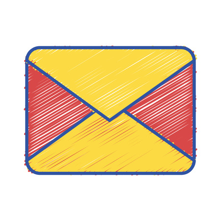letter card message closed with document information