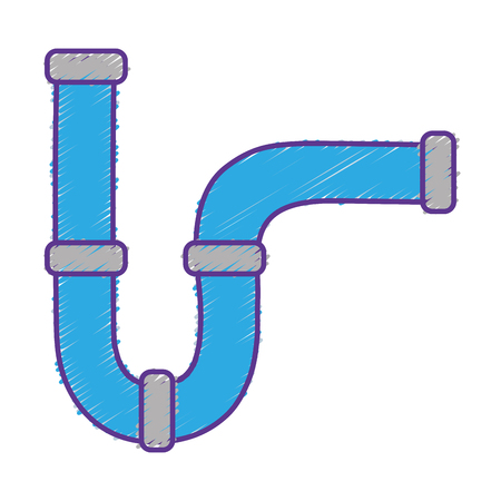fitting: Tube illustration. Illustration
