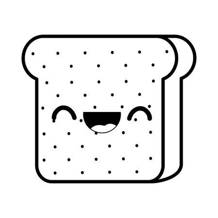 Isolierte Brotdesign Standard-Bild - 89906115