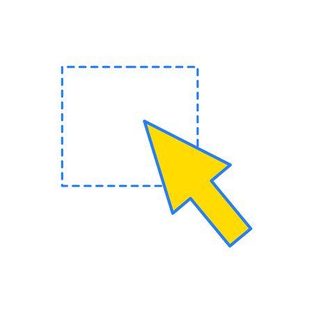 Isolated cursor design