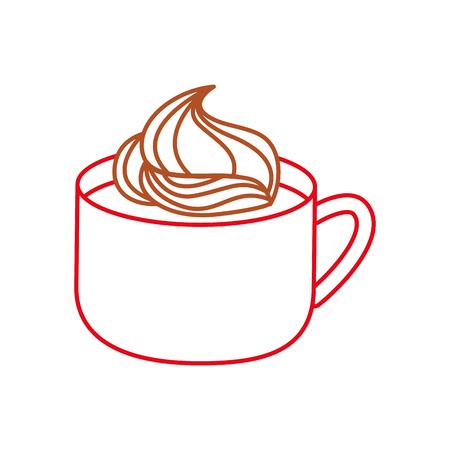 Chocolate mug design