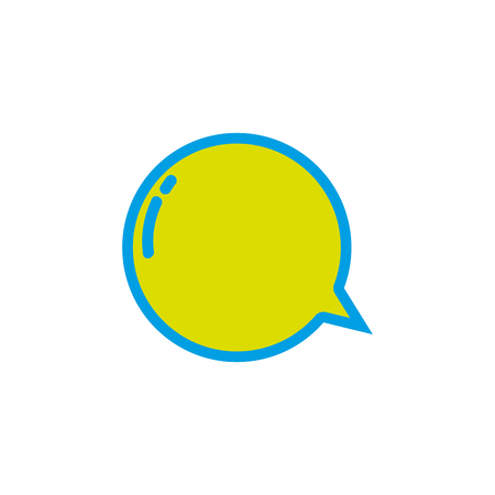 thought balloon: Chat bubbles icon. Illustration