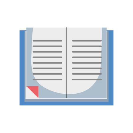 Objet de livre d'éducation pour apprendre des connaissances Vecteurs