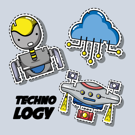set technology patches data information