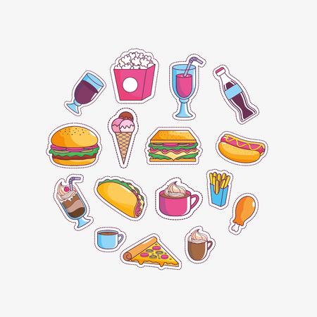 Tasty and fast food design