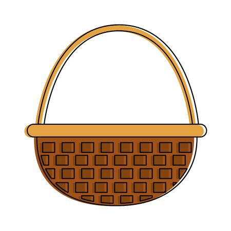 Isolated basket design vector Illustration