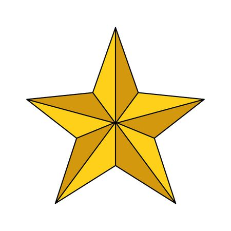 Isolated star esign