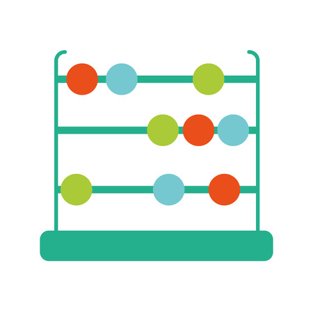 Isolated abacus design