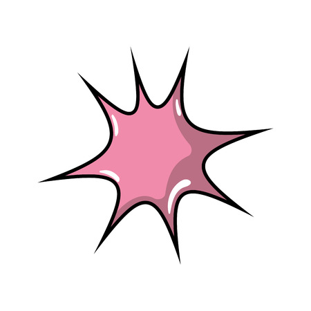 star chat bubble art note message vector illustration