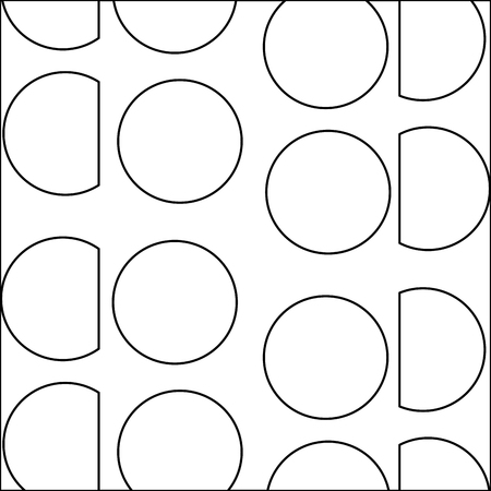 line circle and triangle memphis style background vector illustration Stock Vector - 91323885