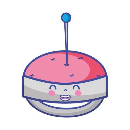 キュートな笑顔のピン chichion
